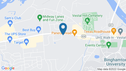 Tru by Hilton Binghamton Vestal Map