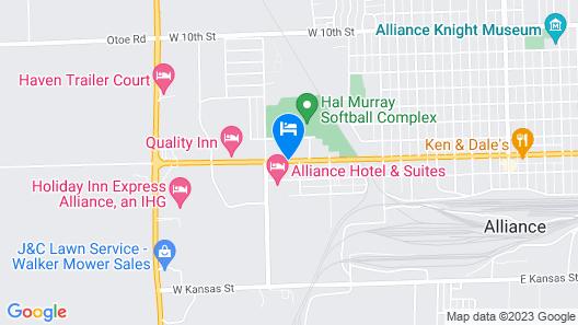1st Interstate Inn Map