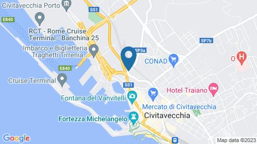 Hotel Traghetto Map