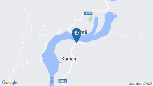 Hotel Komani View Map