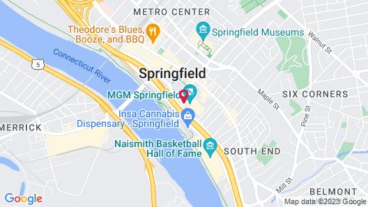 MGM Springfield Map
