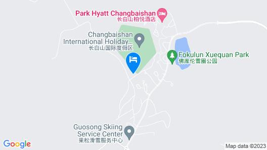 Sheraton Changbaishan Resort Map