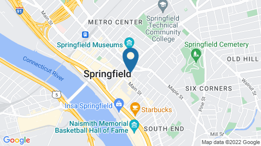 Holiday Inn Express Springfield Downtown, an IHG Hotel Map