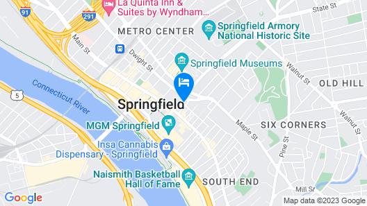 Holiday Inn Express Springfield Downtown, an IHG Hotel Map