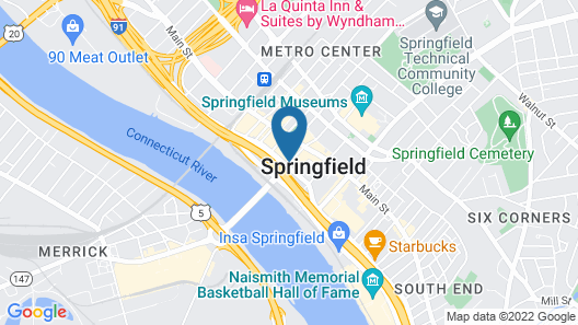 Tower Square Hotel Springfield Map