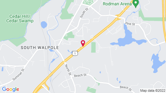 Home2 Suites by Hilton Walpole Foxboro Map