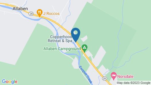 Copperhood Retreat & Spa Map