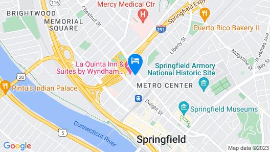 La Quinta Inn & Suites by Wyndham Springfield MA Map