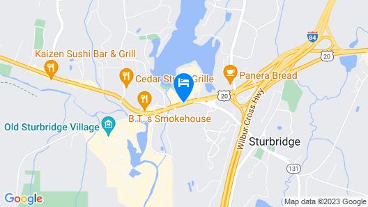 Sturbridge Host Hotel & Conference Center Map
