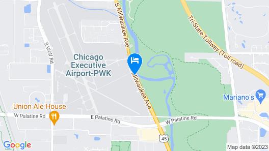Ramada Plaza by Wyndham Chicago North Shore Map