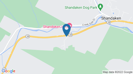 Shandaken Inn Map