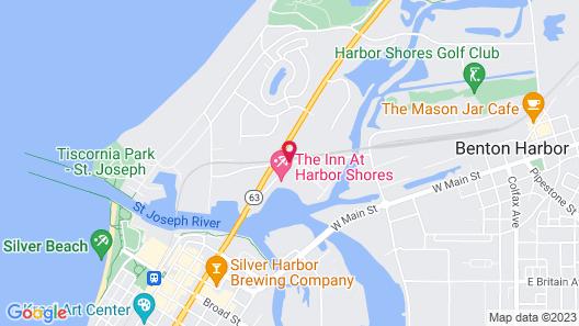 The Inn At Harbor Shores Map