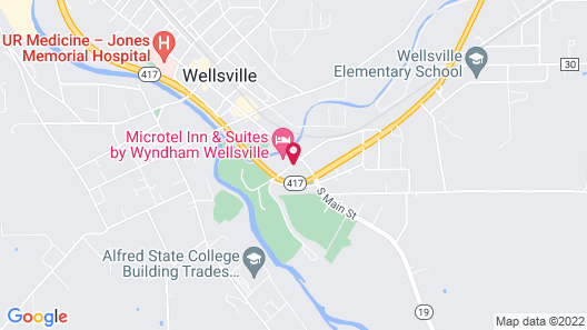 Microtel Inn & Suites by Wyndham Wellsville Map