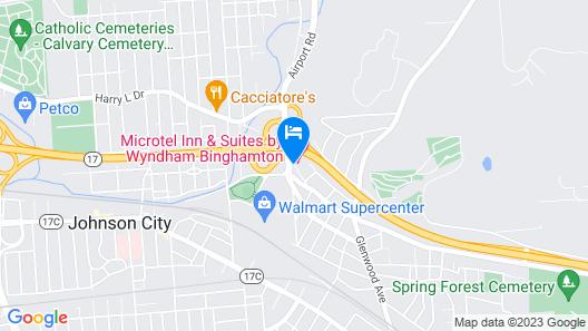 Microtel Inn & Suites By Wyndham Binghamton Map