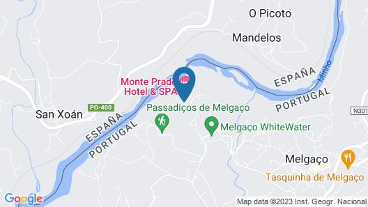 Monte Prado Hotel & Spa Map