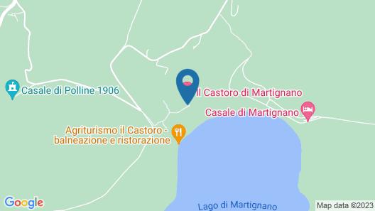 Agriturismo Il Castoro Map