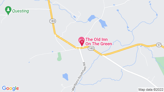 The Old Inn On The Green Map