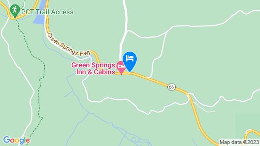 Green Springs Inn & Cabins Map