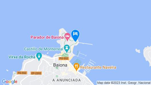 Parador De Baiona Map