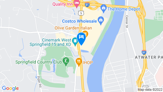 Courtyard by Marriott West Springfield Map