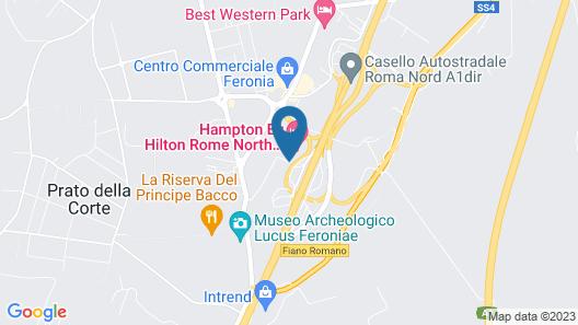 EuroHotel Roma Nord Map