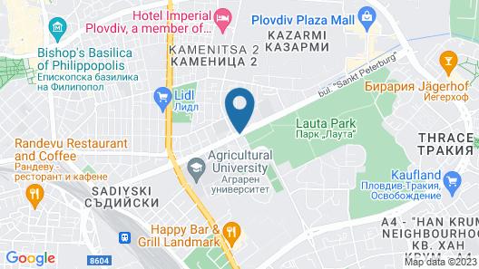 Park Hotel Plovdiv Map