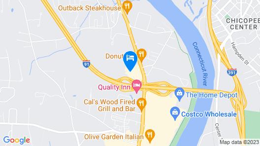 Residence Inn by Marriott West Springfield Map