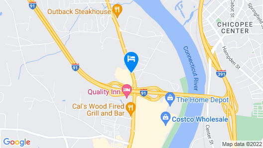 Red Roof Inn PLUS+ West Springfield Map