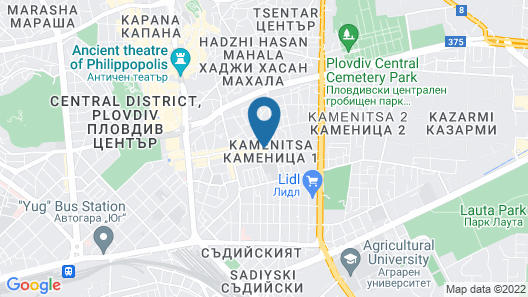 The Emporium Plovdiv MGallery Hotel Collection Map