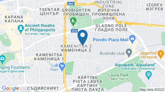 Hotel Imperial Plovdiv, a member of Radisson Individuals Map