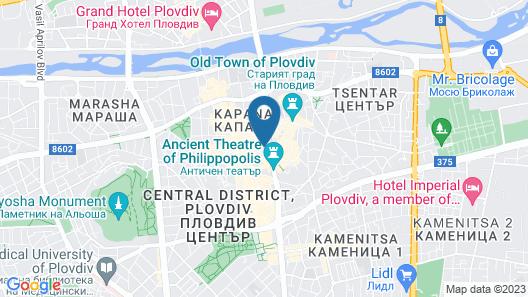 HillHouse Plovdiv Map