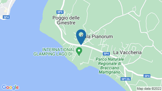 International Glamping Lago Di Bracciano Map