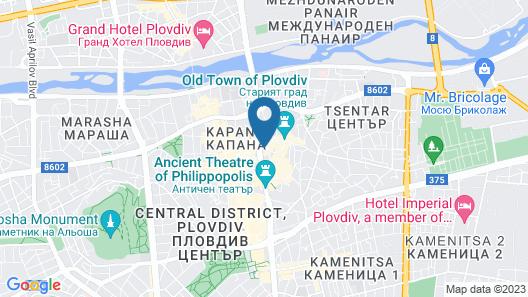 Hotel Evmolpia Map