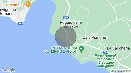 Monic 83 - Rustic- 150m From Bracciano Lake Map