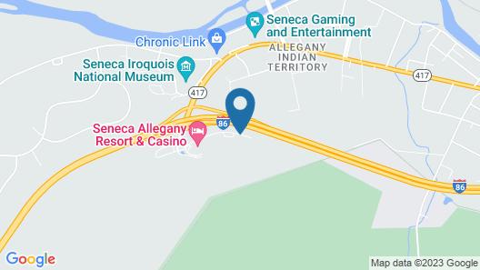 Seneca Allegany Resort & Casino Map