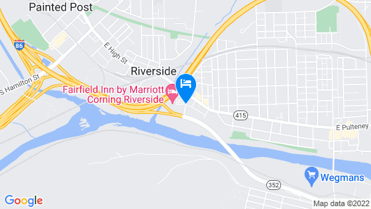Fairfield Inn Marriott Corning Map