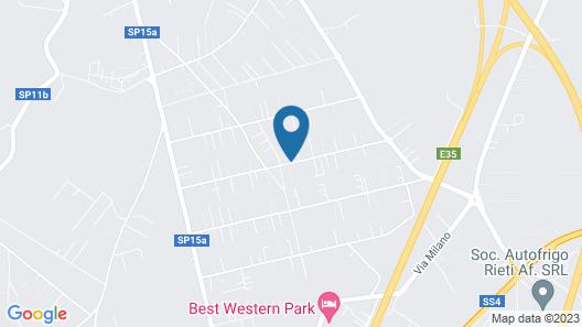 Bed & Breakfast Degli Ulivi Map