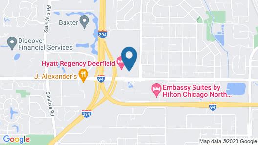 Hyatt Regency Deerfield Map