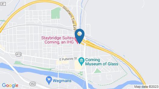 Staybridge Suites Corning, an IHG Hotel Map