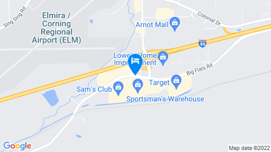 Econo Lodge Elmira-Corning Map