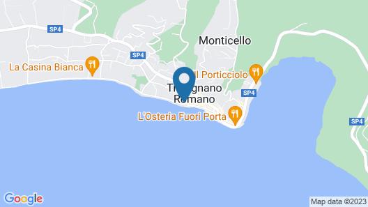 Malì Guest House & Terrace Bar Map
