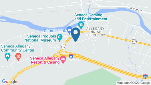 Holiday Inn Express & Suites Salamanca, an IHG Hotel Map