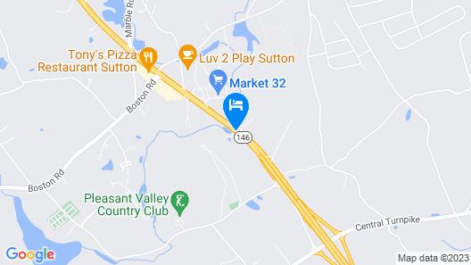 Red Roof Inn Sutton Map