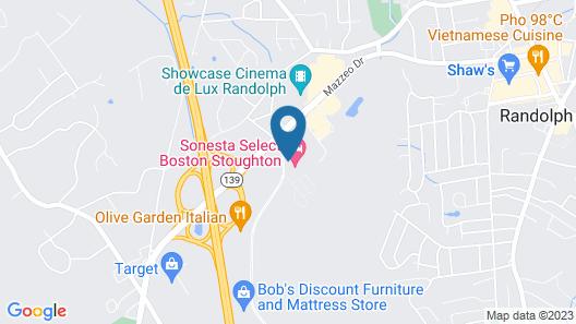 Sonesta Select Boston Stoughton Map