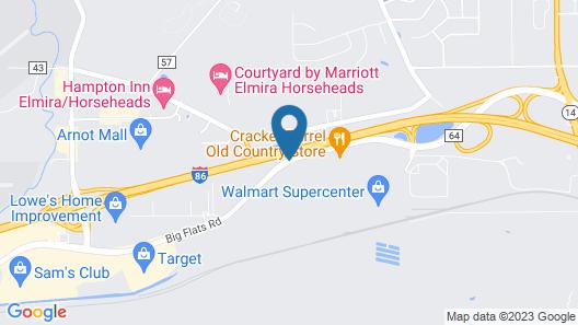 Fairfield Inn & Suites Elmira Corning Map