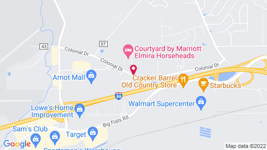 Country Inn & Suites by Radisson, Big Flats (Elmira), NY Map