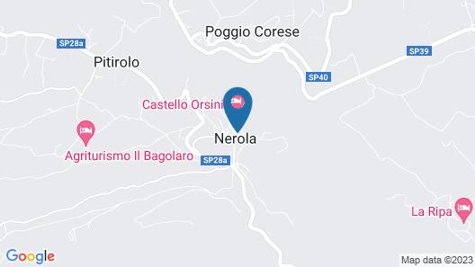 Castello Orsini Hotel Map