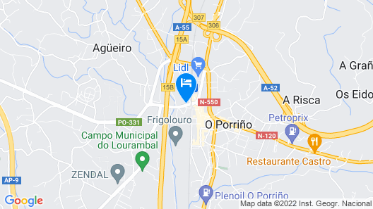 Hostal Louro Map