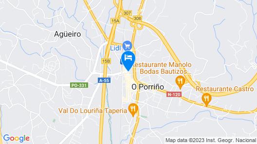 Albergue Camino Santiago Porriño Map
