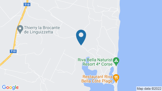 Riva Bella Naturiste Thalasso & Spa Resort Map